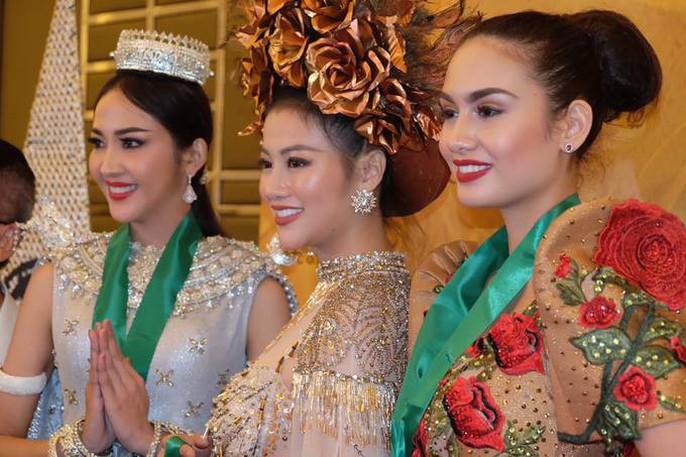 Nguyễn Phương Khánh thắng giải vàng trang phục dân tộc cuộc thi Hoa hậu Trái đất - Ảnh 4.
