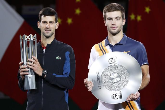 Clip Djokovic vô địch tại Thượng Hải, đoạt danh hiệu Masters thứ 32 - Ảnh 6.