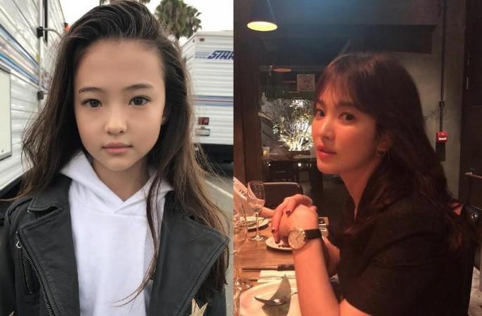 Tiểu Song Hye Kyo chạm mốc triệu lượt theo dõi ở tuổi lên 10 - Ảnh 3.