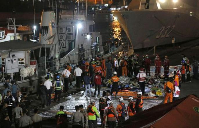 Vụ rơi máy bay Indonesia: Chiếc máy bay rơi không tiếng động - Ảnh 2.