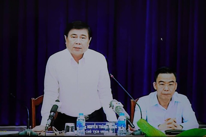 The Chairperson of the People's Committee of HCMC who works with people Thu Thiem ends 3 times - Figure 1.