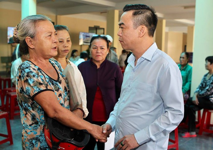 Over 3 times, the Chairman of the National Committee of HCMC works with the people of Thu Thiem - Figure 5.