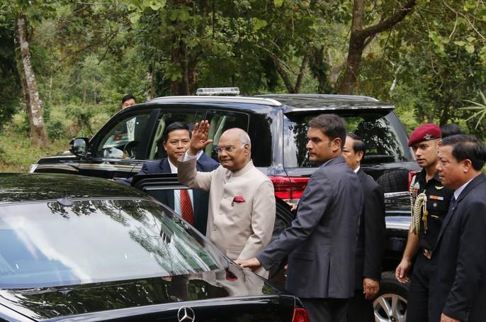 Tổng thống Ấn Độ cùng phu nhân thăm di sản thế giới Mỹ Sơn - Ảnh 15.