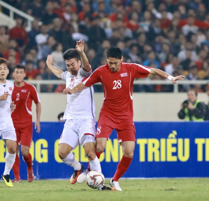 Tiến Linh lập công, Việt Nam bị Triều Tiên cầm chân trước Asian Cup - Ảnh 3.