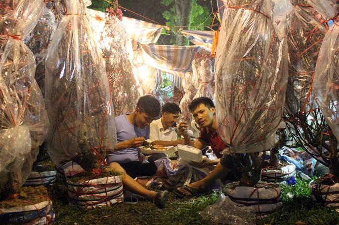 Người Sài Gòn rộn ràng tham quan chợ hoa trong đêm - Ảnh 14.
