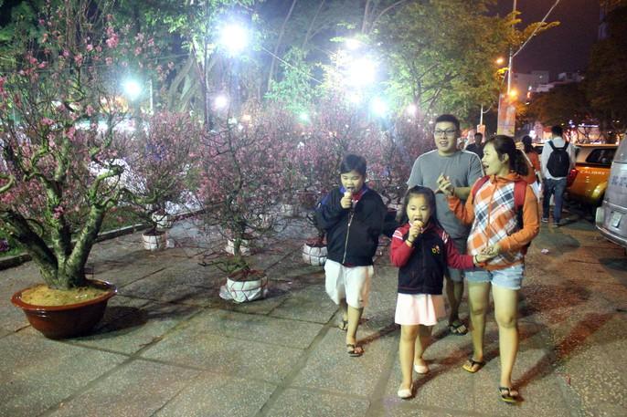 Người Sài Gòn rộn ràng tham quan chợ hoa trong đêm - Ảnh 5.