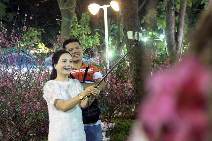 Người Sài Gòn rộn ràng tham quan chợ hoa trong đêm - Ảnh 11.