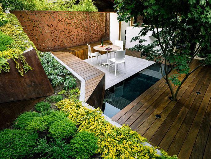 Khu vườn thiết kế kiểu ruộng bậc thang ai thấy cũng mê - Ảnh 10.