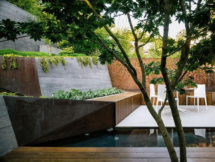 Khu vườn thiết kế kiểu ruộng bậc thang ai thấy cũng mê - Ảnh 7.