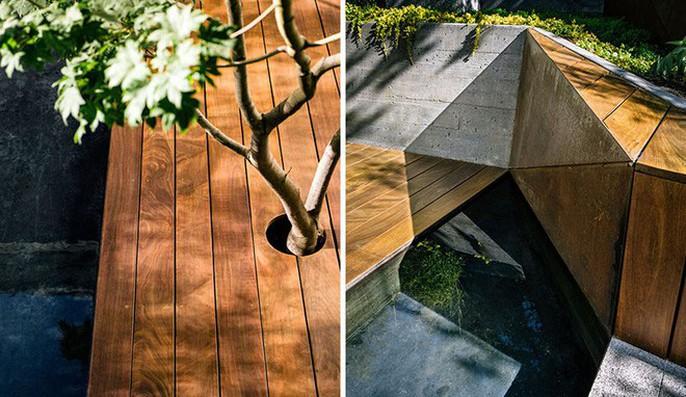 Khu vườn thiết kế kiểu ruộng bậc thang ai thấy cũng mê - Ảnh 8.