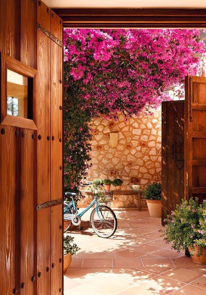 Chết lịm trước những ngôi nhà cổng hoa giấy đẹp tuyệt - Ảnh 13.