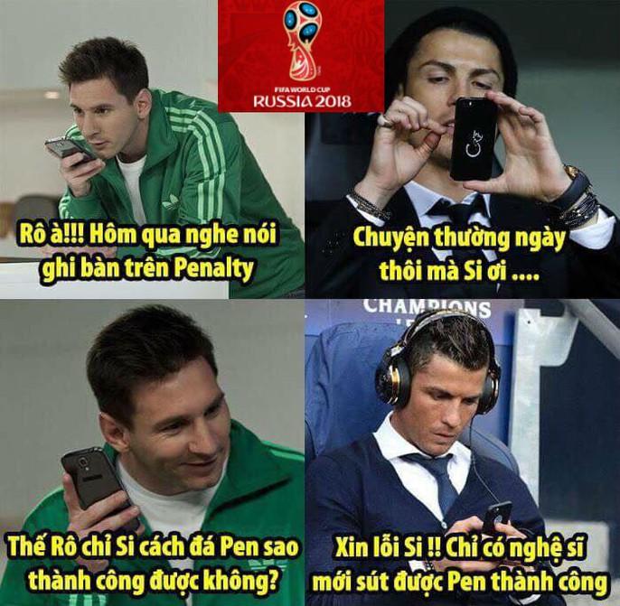 Ảnh chế World Cup: Ronaldo trao vương miện hoa hậu cho... Messi - Ảnh 3.
