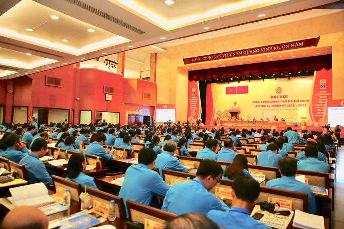 Khai mạc Đại hội XI Công đoàn TP HCM: Bám sát thực tiễn, sâu sát với đời sống CNVC-LĐ - Ảnh 5.