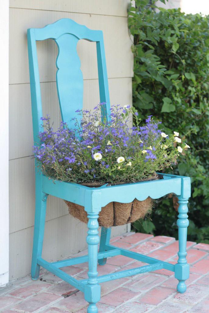 Tận dụng đồ bỏ đi trang trí khu vườn mùa hè xanh mát - Ảnh 12.