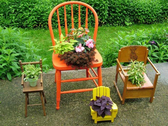 Tận dụng đồ bỏ đi trang trí khu vườn mùa hè xanh mát - Ảnh 10.