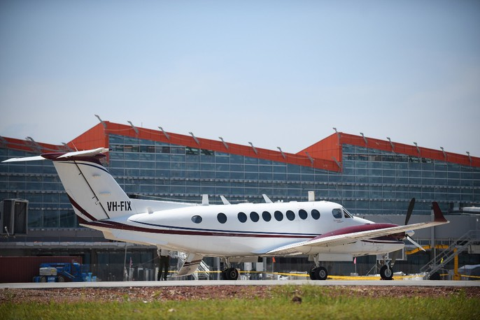 Soi trang thiết bị sân bay tư nhân đầu tiên trên cả nước - Ảnh 14.