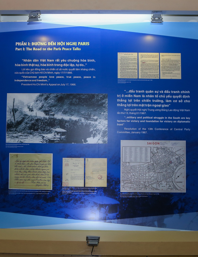 Lần đầu tiên công bố một số tư liệu được Mỹ giải mật về Hiệp định Paris - Ảnh 6.