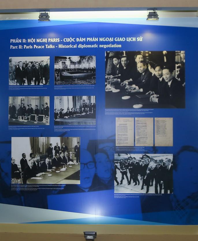 Lần đầu tiên công bố một số tư liệu được Mỹ giải mật về Hiệp định Paris - Ảnh 7.