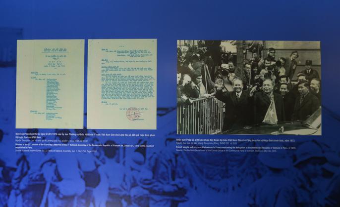 Lần đầu tiên công bố một số tư liệu được Mỹ giải mật về Hiệp định Paris - Ảnh 13.