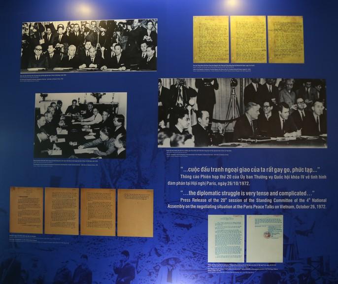 Lần đầu tiên công bố một số tư liệu được Mỹ giải mật về Hiệp định Paris - Ảnh 14.