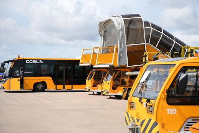 Soi trang thiết bị sân bay tư nhân đầu tiên trên cả nước - Ảnh 23.