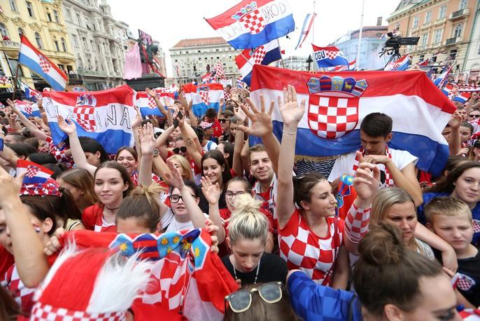 Croatia được chào đón như người hùng tại quê nhà - Ảnh 15.