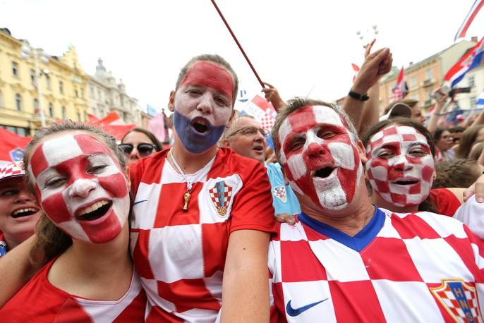 Croatia được chào đón như người hùng tại quê nhà - Ảnh 7.
