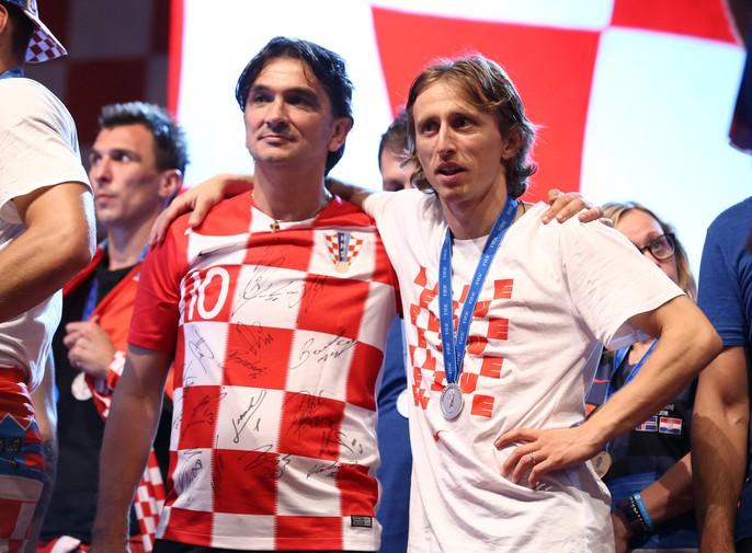 Croatia được chào đón như người hùng tại quê nhà - Ảnh 23.
