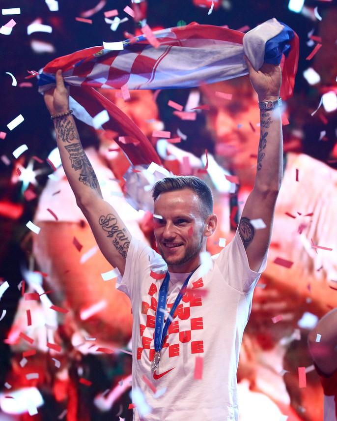 Croatia được chào đón như người hùng tại quê nhà - Ảnh 22.