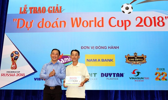 Hào hứng với lễ trao giải dự đoán World Cup 2018 của Báo Người Lao Động - Ảnh 18.