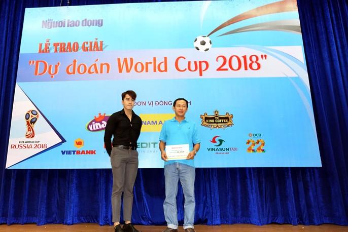 Hào hứng với lễ trao giải dự đoán World Cup 2018 của Báo Người Lao Động - Ảnh 15.