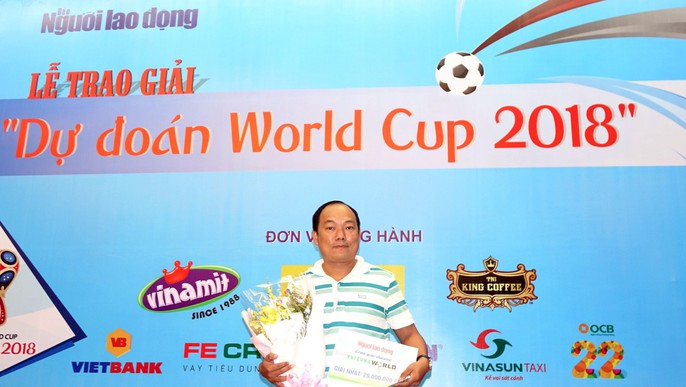Hào hứng với lễ trao giải dự đoán World Cup 2018 của Báo Người Lao Động - Ảnh 12.