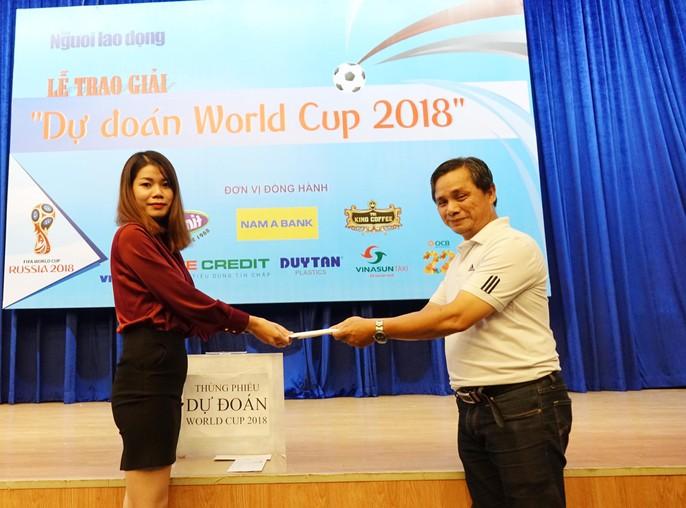 Hào hứng với lễ trao giải dự đoán World Cup 2018 của Báo Người Lao Động - Ảnh 9.
