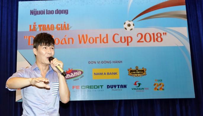 Hào hứng với lễ trao giải dự đoán World Cup 2018 của Báo Người Lao Động - Ảnh 10.