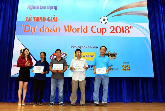 Hào hứng với lễ trao giải dự đoán World Cup 2018 của Báo Người Lao Động - Ảnh 8.