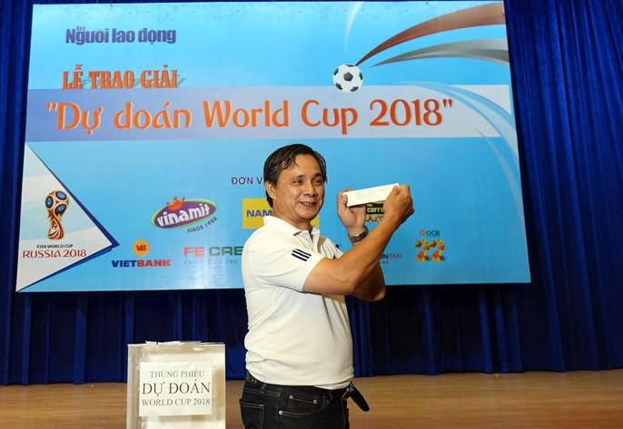 Hào hứng với lễ trao giải dự đoán World Cup 2018 của Báo Người Lao Động - Ảnh 6.