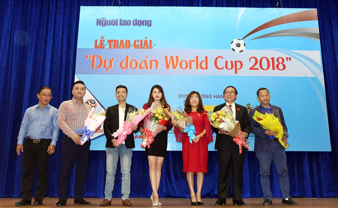 Hào hứng với lễ trao giải dự đoán World Cup 2018 của Báo Người Lao Động - Ảnh 5.