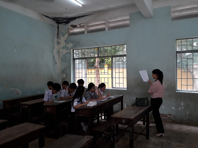 Một ngôi trường chuẩn quốc gia nhưng… chờ sập - Ảnh 5.
