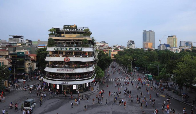 Olympic Việt Nam vuột Huy chương Đồng, Hồ Gươm vắng cổ động viên - Ảnh 12.