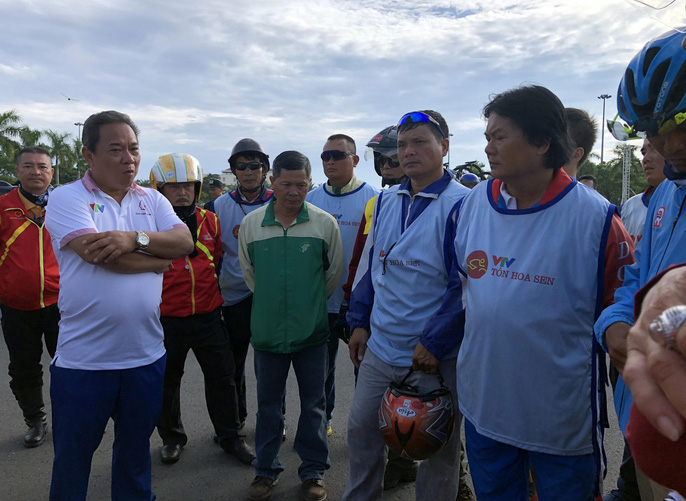 Tước quyền 4 tay đua ngay vạch xuất phát Cúp Tôn Hoa Sen 2018 - Ảnh 5.