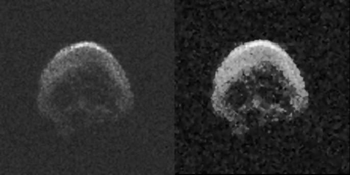 Tiểu hành tinh đầu lâu tiến gần trái đất - Ảnh 2.