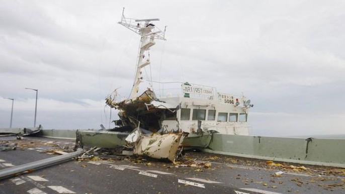 Hình ảnh Nhật Bản tả tơi sau bão Jebi - Ảnh 14.