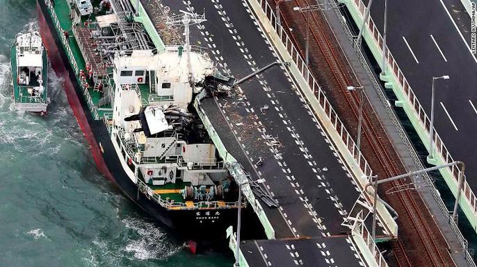 Hình ảnh Nhật Bản tả tơi sau bão Jebi - Ảnh 17.