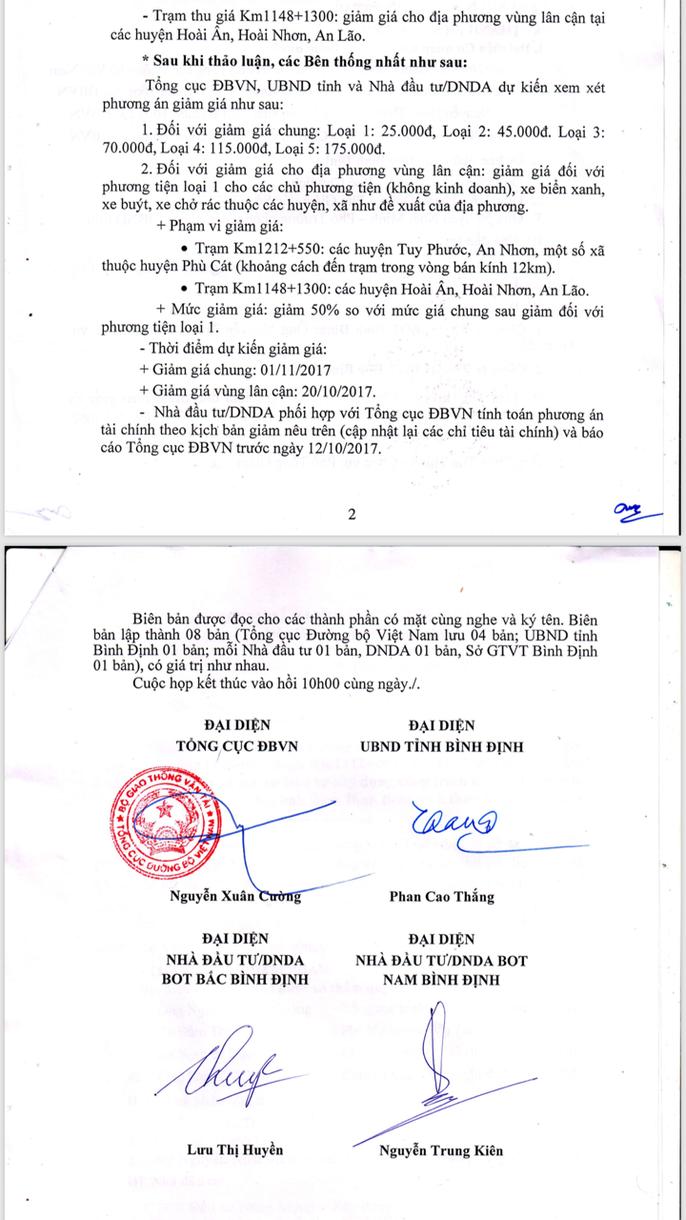 """Ai """"lật kèo"""" vụ giảm giá vé BOT Nam Bình Định? - Ảnh 2."""
