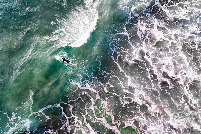 20 bức ảnh ấn tượng nhất 2017, chụp từ máy bay không người lái - Ảnh 14.