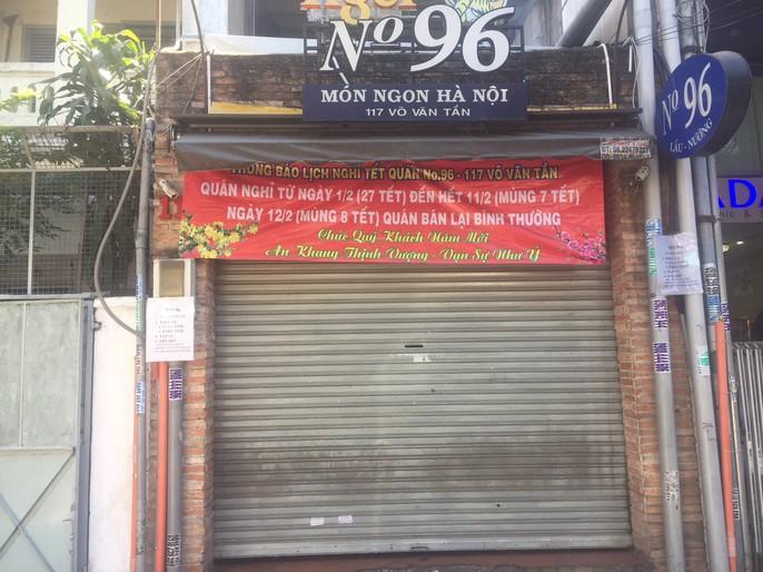 Mùng 7 Tết, nhiều hàng quán ở TP HCM vẫn chưa khai trương - Ảnh 5.