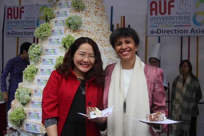 Giám đốc VP Châu Á-Thái Bình Dương Tổ chức quốc tế Pháp ngữ trổ tài đầu bếp - Ảnh 13.