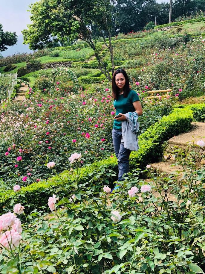 Sững sờ trước vườn hồng 3,5 ha tuyệt đẹp vừa nhận kỷ lục Việt Nam - Ảnh 8.