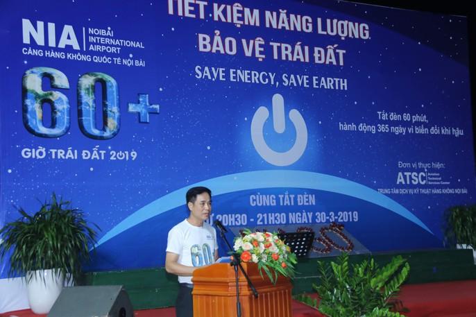 Sân bay Nội Bài như thế nào khi tắt điện vào Giờ trái đất? - Ảnh 6.
