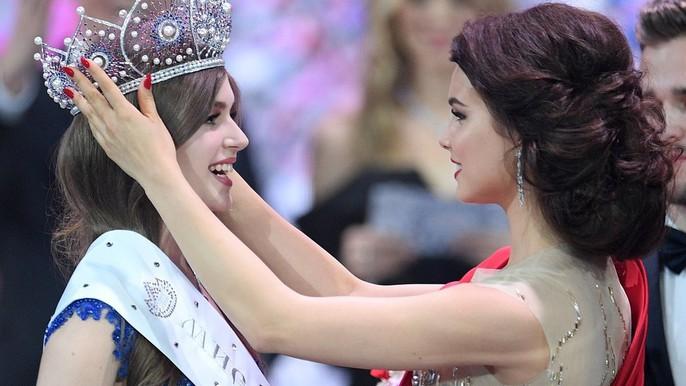 Cận cảnh nhan sắc ngọt ngào của tân Hoa hậu Nga - Ảnh 1.